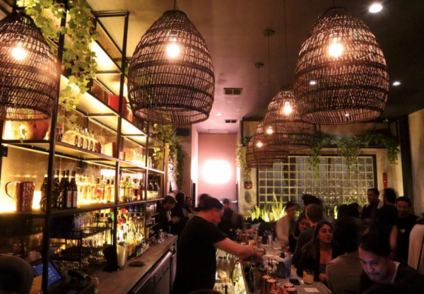 Asian-Inspired Cocktail Bar Opens on Manhattan Avenue