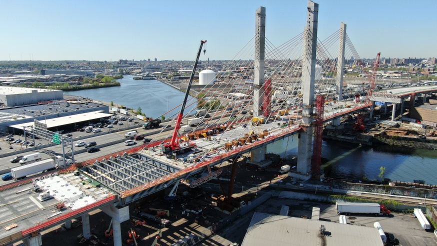Kosciuszko Bridge to Fully Open in September, Project to be
