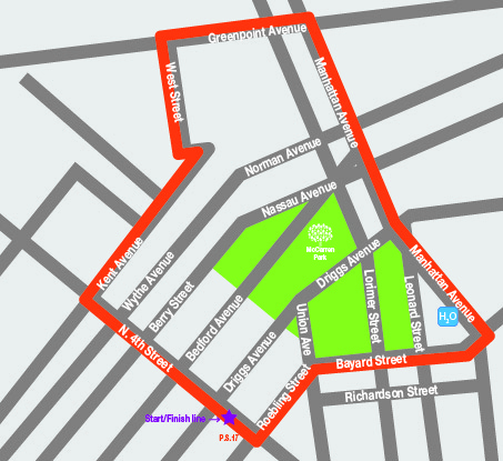 Greenpoint Brooklyn Subway Map.Dime Mccarren 5 10k Race Taking Place This Weekend Greenpoint Post